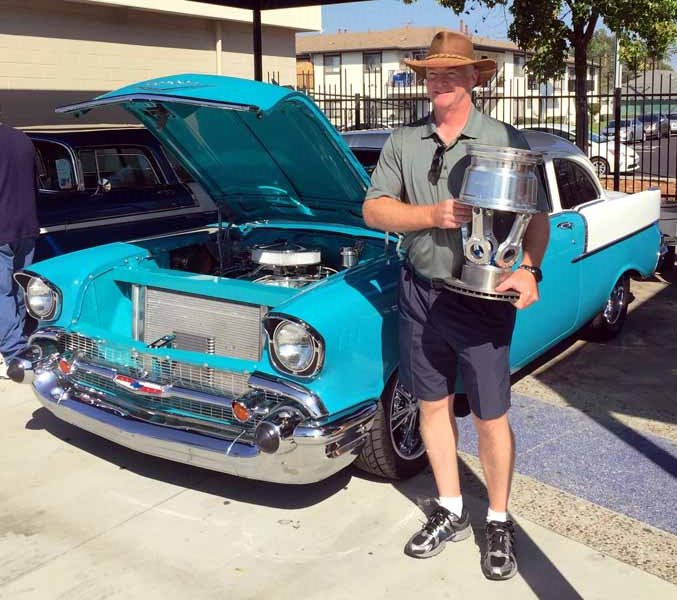 2016 Colony Classic Car Show Trophy Winners
